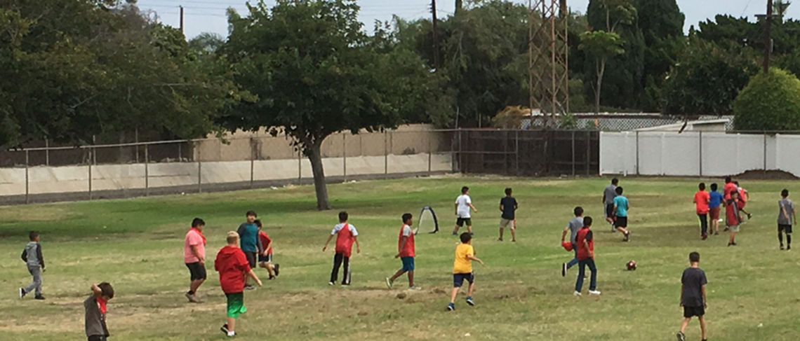 Gilbert's Pure Game Soccer ignites new friendships between those who dearly love this sport.
